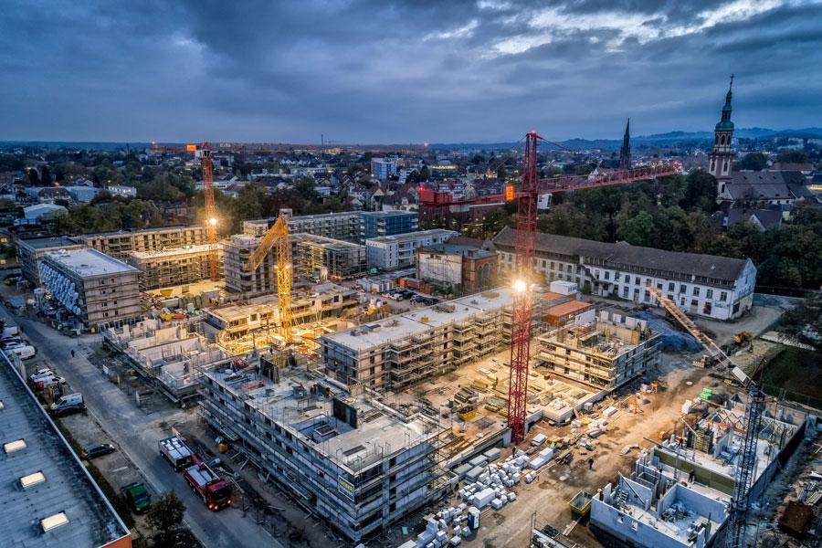 Muehlbachareal Offenburg Streib Bau
