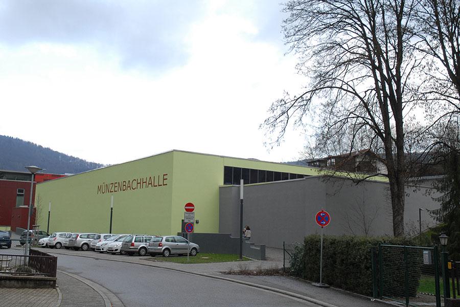 Münzenbachhalle Streib Bau