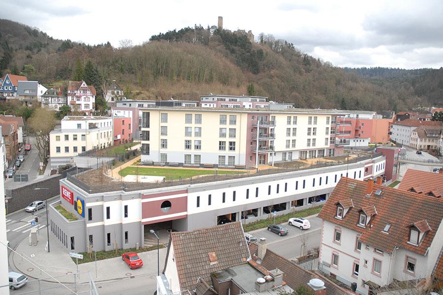 Schlossbergterrasse Weinheim
