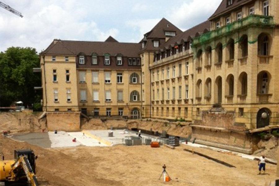 Tiefgarage Klinikum Mannheim Streib Bau